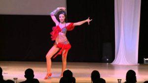 Latin Woman Dancing