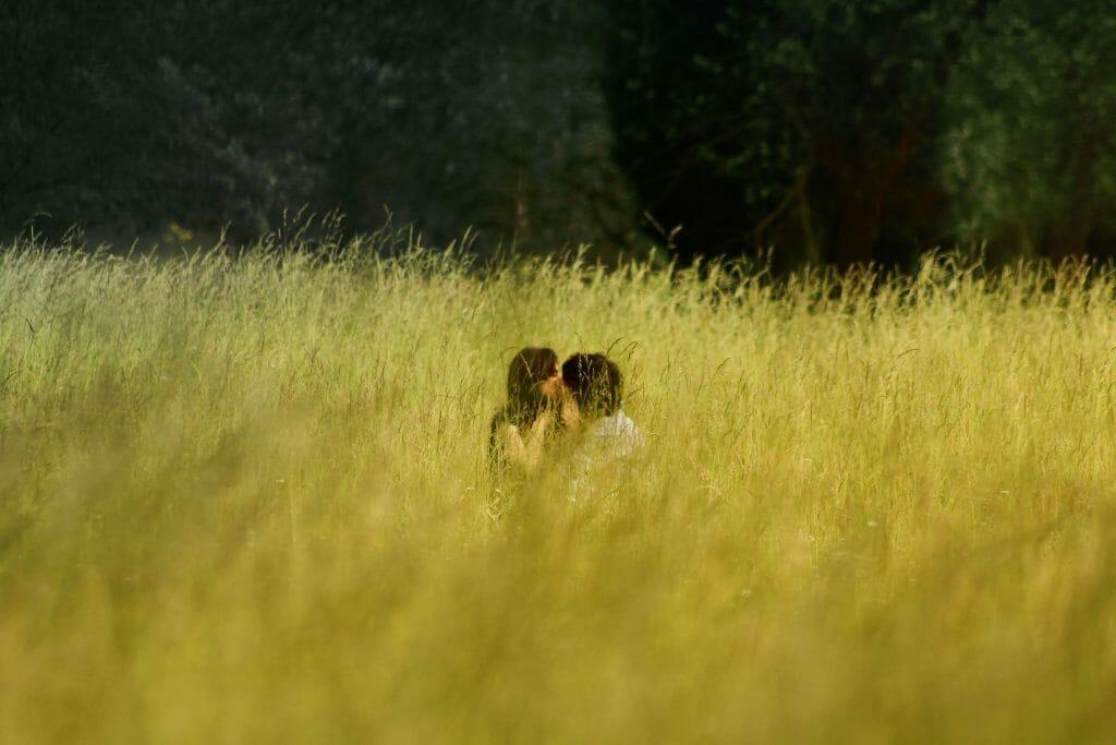 Couple Loving Up