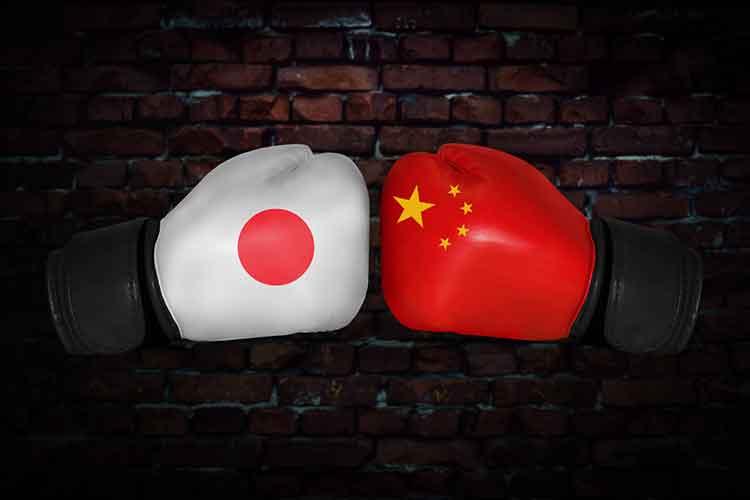 Chinese vs Japan