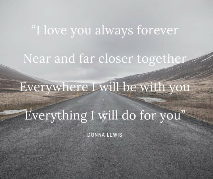 Donna Lewis quote