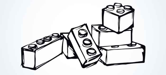 Meccano puzzle kit