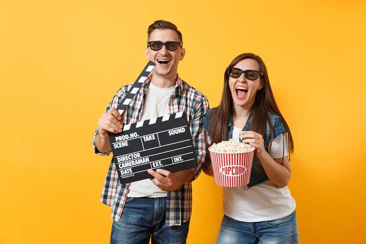 couple making movie