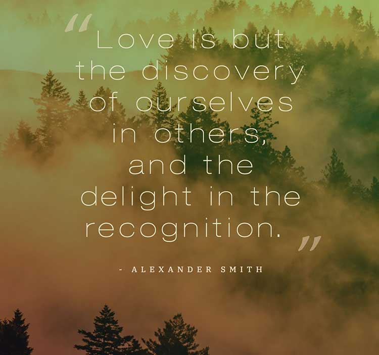 love is for discovery