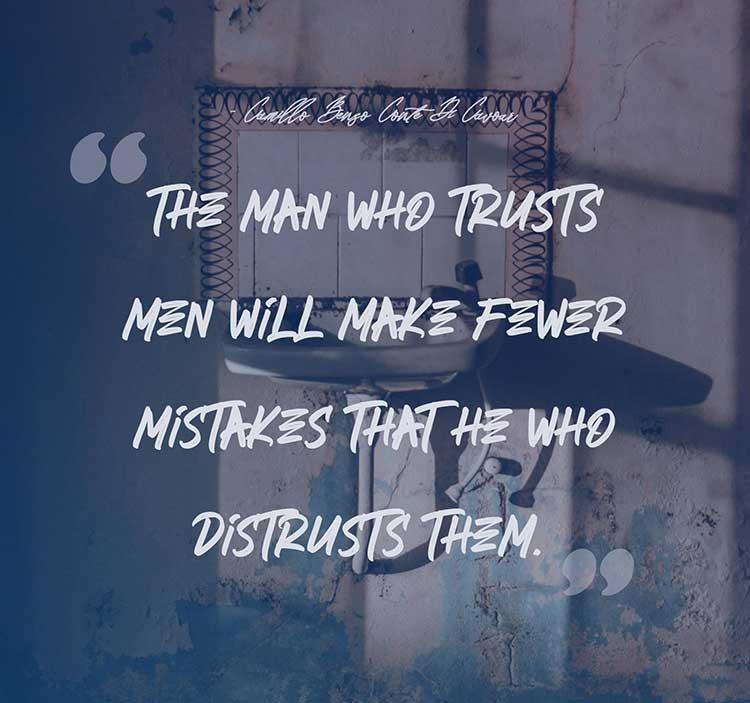 trust men