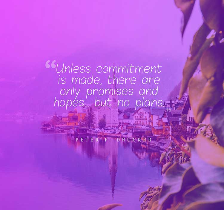unless commitment is made